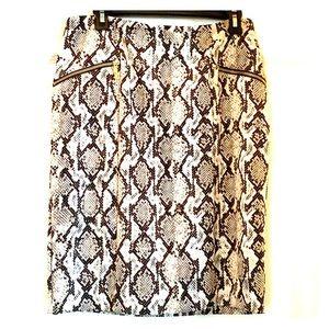 Michael Kors *NWT* Python Skirt - Size 8
